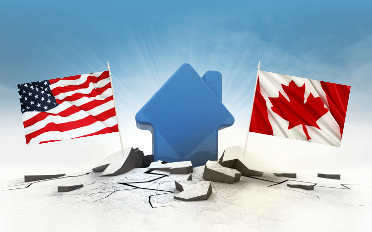 American vs Canadian Mortgage Calculation