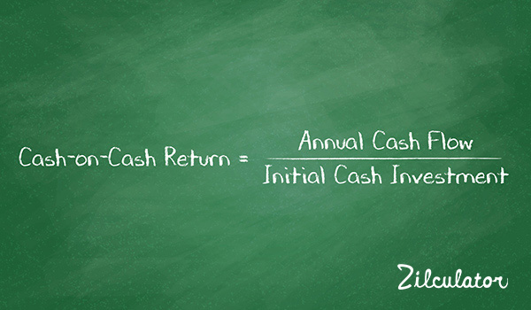 Cash-on-Cash Return: Real Estate Analysis