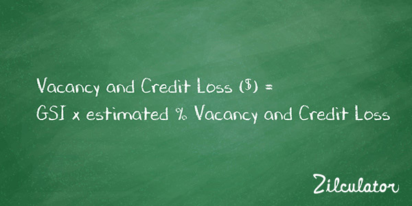 Vacancy and Credit Loss: Real Estate Analysis